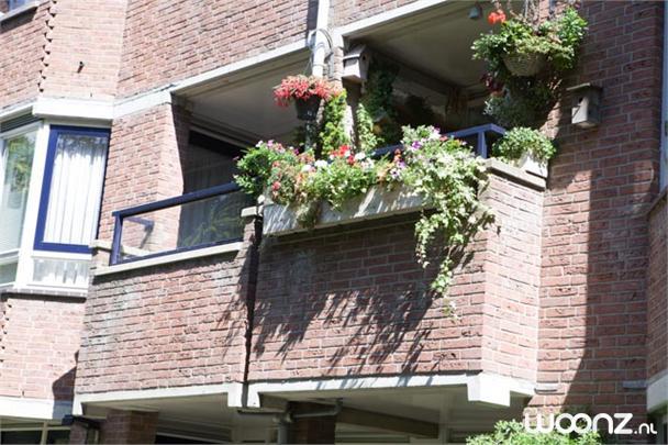 Tweekamerappartement, 1e verdieping aan de tuinzijde
