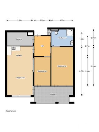 150102 Aanleunwoning Molenrijnselaan 3 kamers