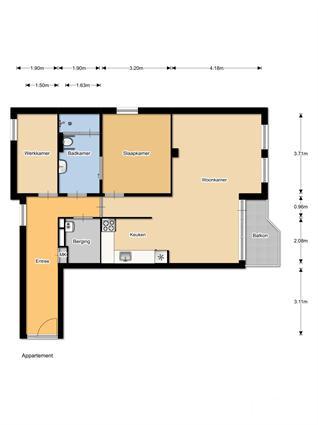 150102 Aanleunwoning Kapellaan 3 kamers