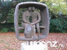 Kunst in de tuin van Torenhof