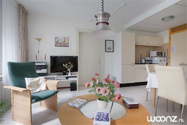 Vivium Oversingel - Weesp - groot 2-kamer appartement aan binnentuin met uitzicht op water van binnentuin - Woonkamer 1