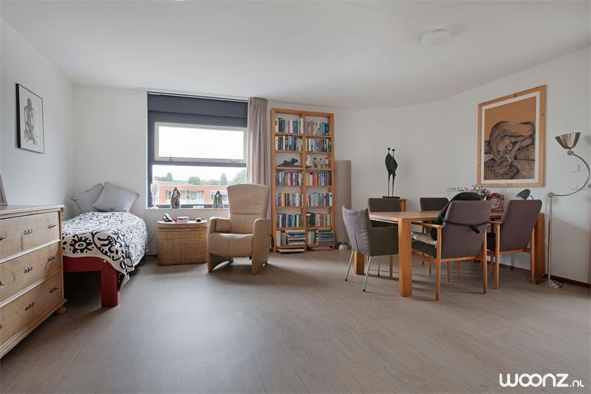 Vivium Oversingel - Weesp - ruim hoekappartement - Woonkamer en slaapkamer