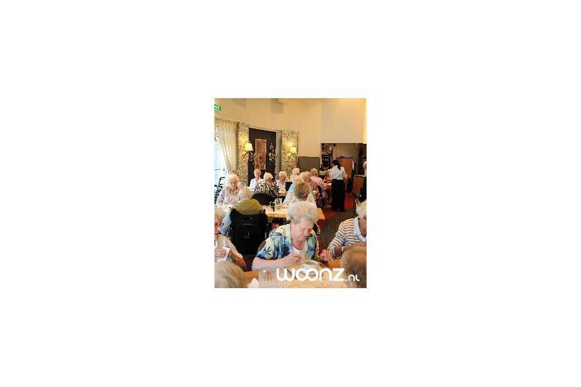 Eten in het restaurant van Oversingel