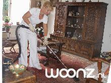 De huishoudelijke dienst actief.