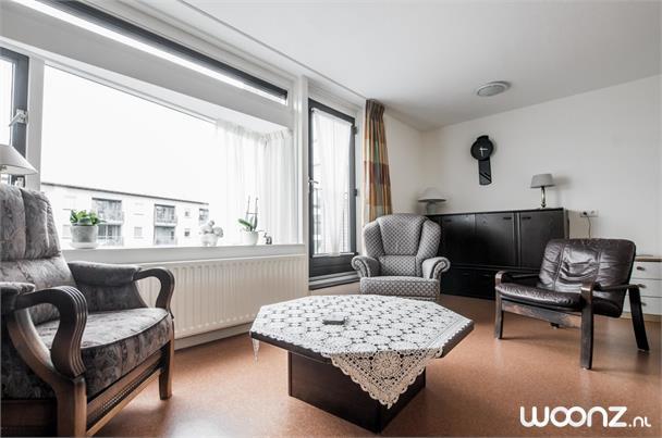 Gezellig appartement met frans balkon