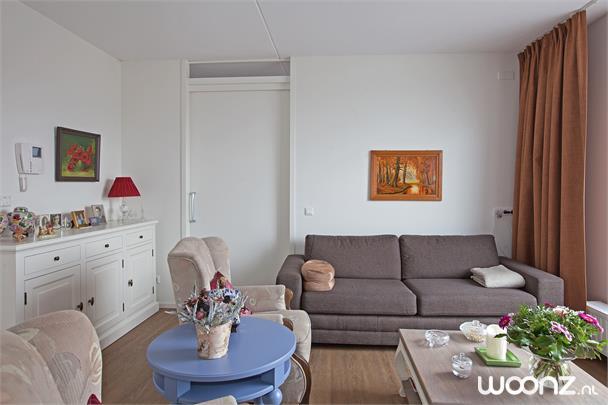 3-kamer appartement met terras aan de tuin