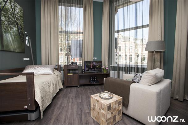 Luxe hotelkamer met verzorging