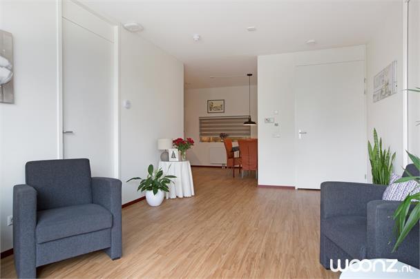 woonkamer tussenappartement