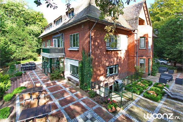Appartement - uitzicht op binnentuin & terras