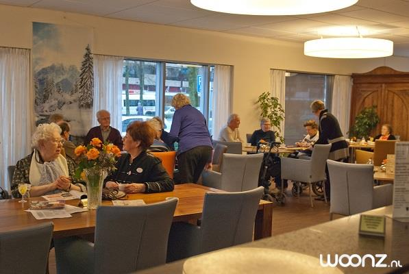 Het restaurant annex Grand Cafe