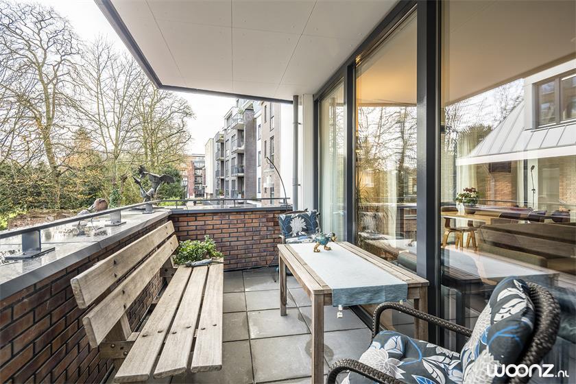 gezellig balkon