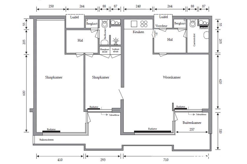 plattegrond-4-kamer-appartement-ecr-sibelius