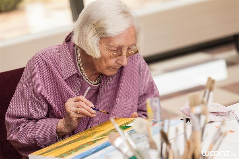Solace-vrouw-schilderen-dagbesteding