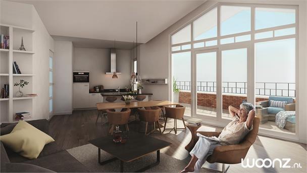 Exclusief service penthouse met uitzicht