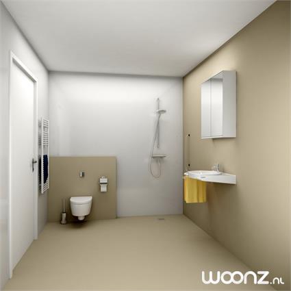 Impressie badkamer