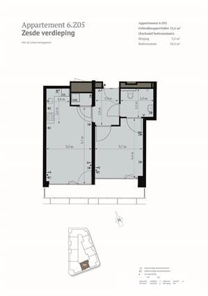 2-kamer appartement met Haags uitzicht