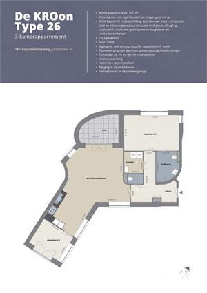 Royaal en exclusief appartement (Type 26)