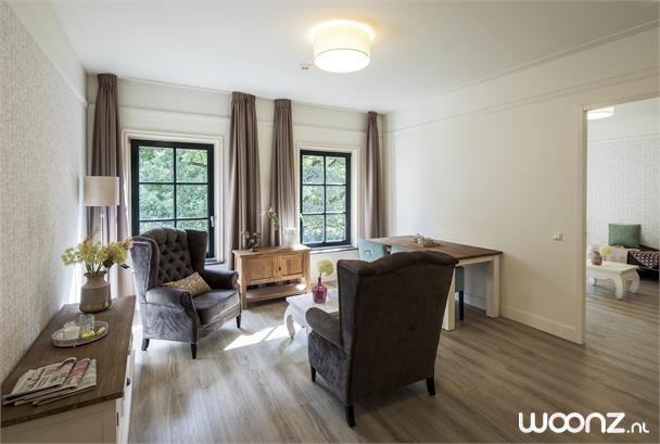 Sfeervol appartement op zolderverdieping 60m2