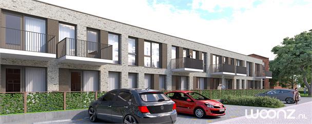 2-kamer appartement met kleine tuin of balkon