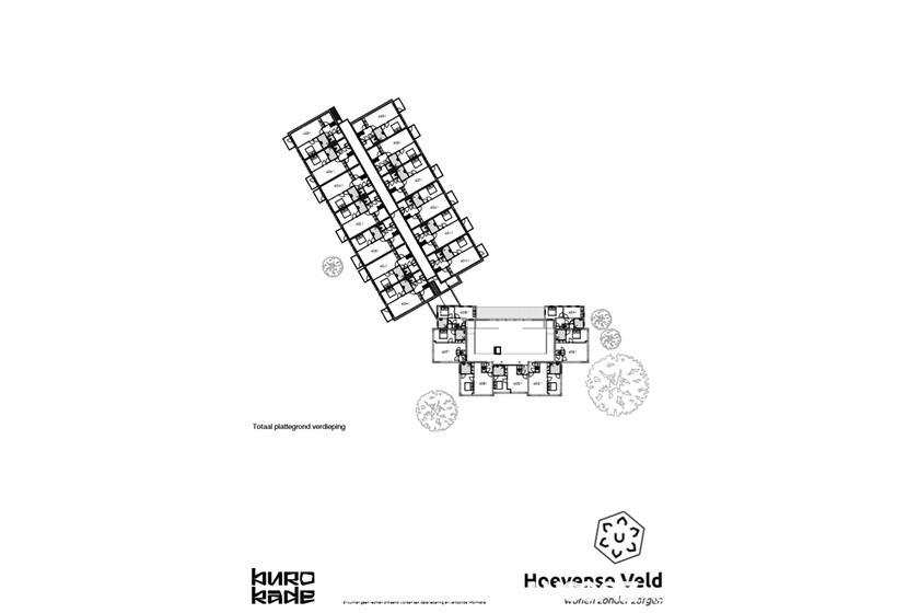 Plattegrond Wonen Hoevense Veld - verdieping