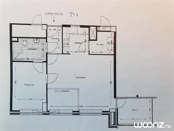 2-3 kamer appartementen