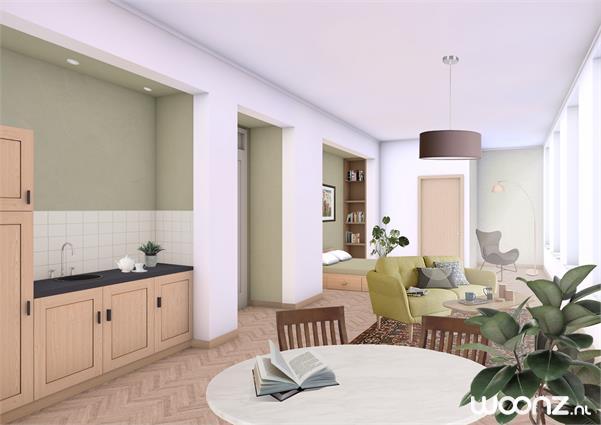 2-kamer zorgappartementen in nieuwe zorgvilla